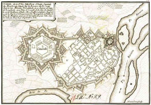 Plan of a Citadel (from Wikipedia)